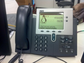 Telephone System Hackerspace Ackspace